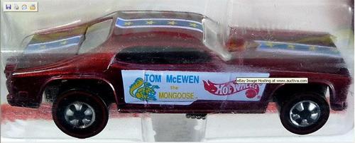 hot wheels vintage collection mongoose (lacrado, super raro)
