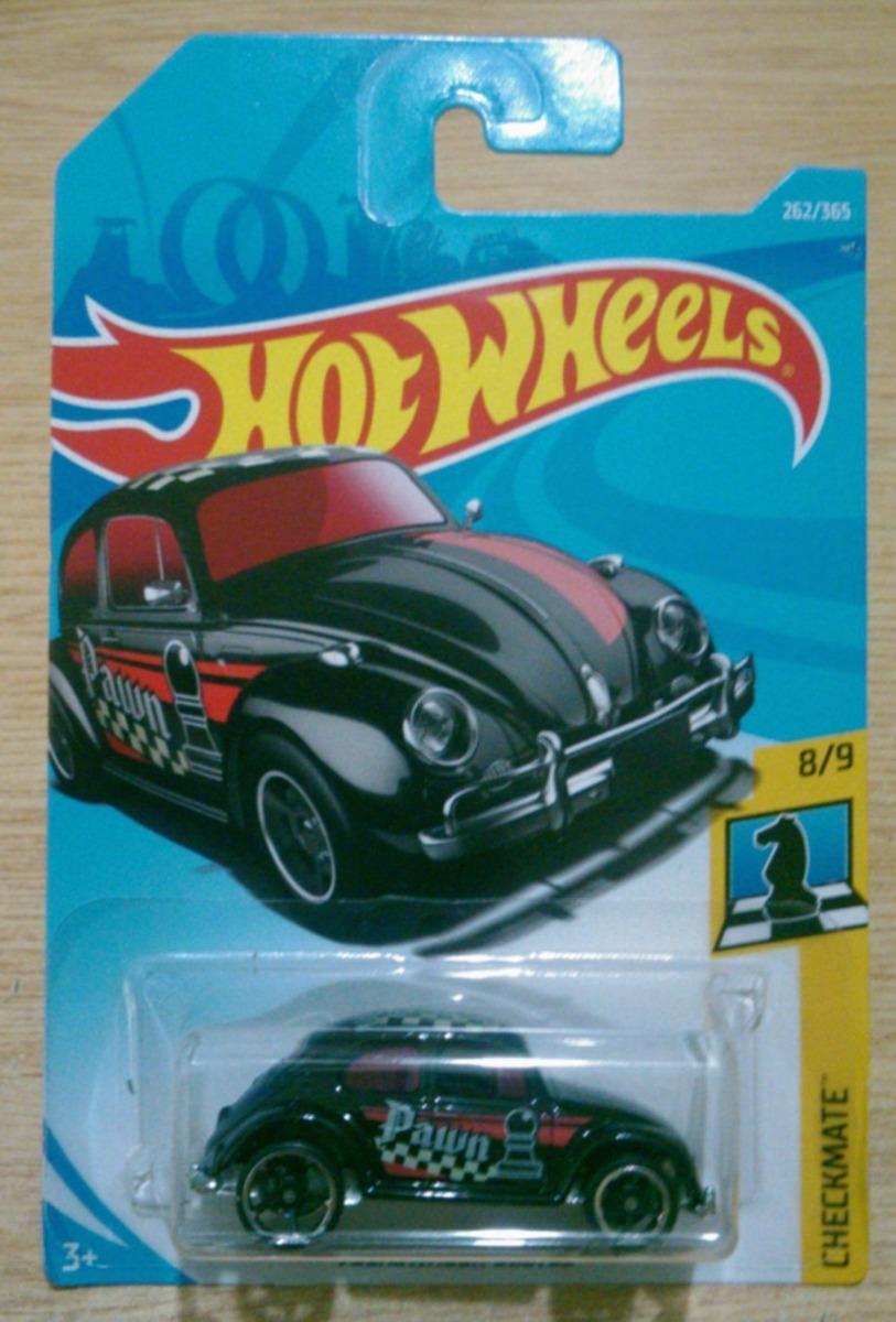Hot Wheels Volkswagen Beetle Ajedrez Negro Peon Nuevo Vw 18 - $ 115.00 en Mercado Libre