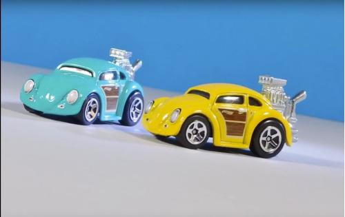 hot wheels - volkswagen beetle - colores - escarabajo -nuevo