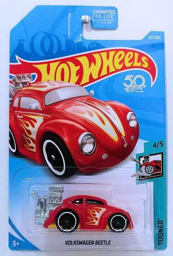 hot wheels volkswagen beetle red