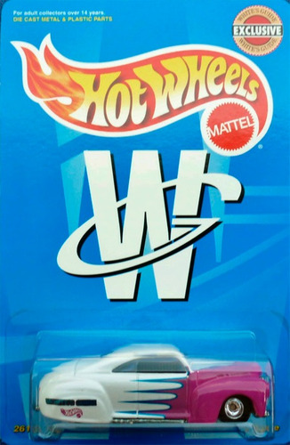hot wheels whites guide tail dragger  (lacrado, raro)