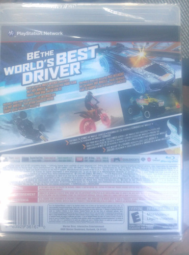 hot wheels world best driver ps3 envio gratis
