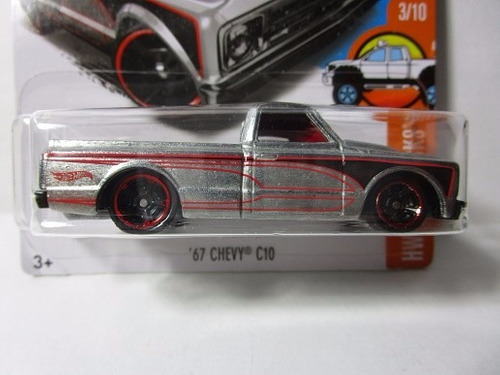 hot wheels zamac camioneta chevrolet chevy c10 escala 1/64