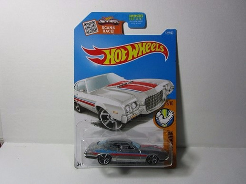 hot wheels zamac ford gran torino escala 1/64 coleccion