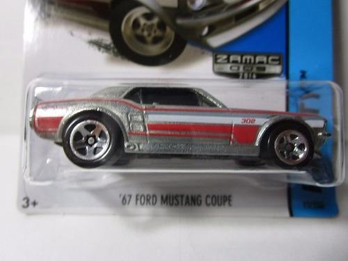 hot wheels zamac ford mustang escala 1/64 coleccion