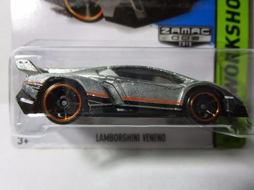 hot wheels zamac lamborghini coleccion 7cm largo escala 1/64