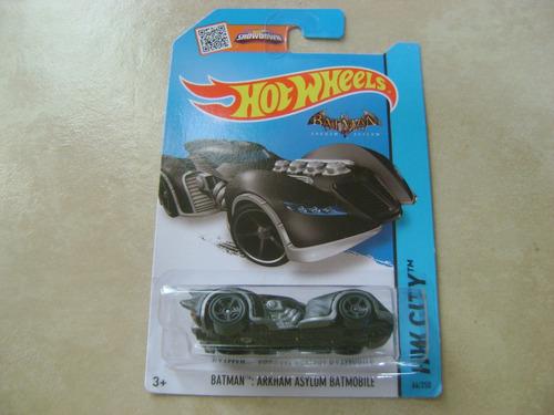 hot whels batman arkham asylum batmobile