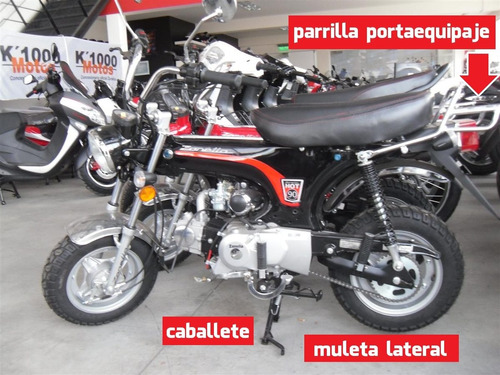 hot zanella g2 90 cc = dax retro