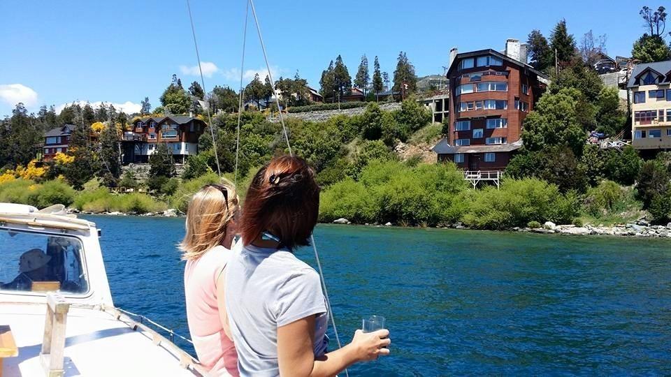 hotel cabañas bariloche costa de lago equipado