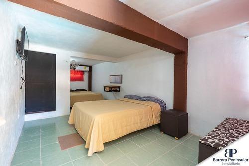 hotel con 17 habitaciones y servicios en chuburna puerto, yucatán