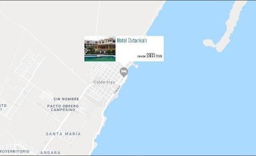 hotel en renta oxtankah, chetumal, q. roo