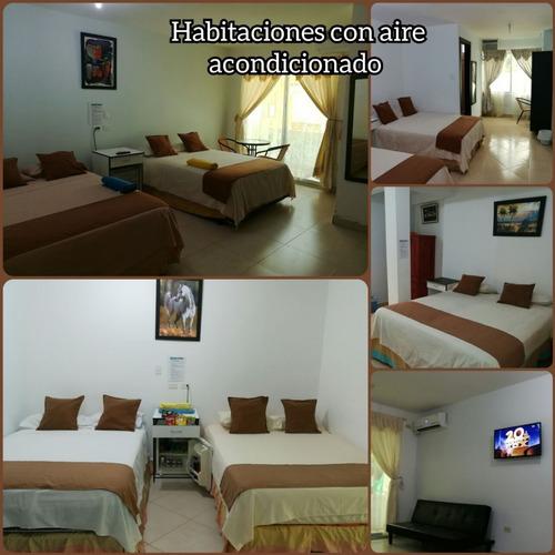 hotel en tonsupa -  complejo rio suites  playa