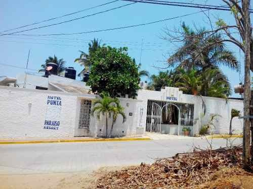 hotel en venta  puerto escondido oaxaca