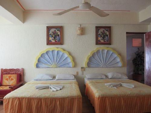 hotel frente a la bahía santa cruz en huatulco