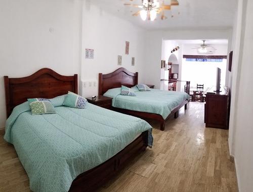 hotel frente al mar en cancun para hasta 4 personas