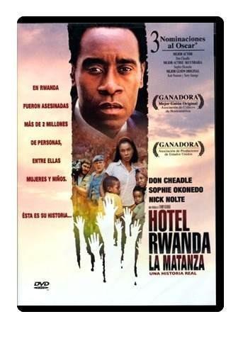 hotel rwanda la matanza 2004 don cheadle pelicula dvd