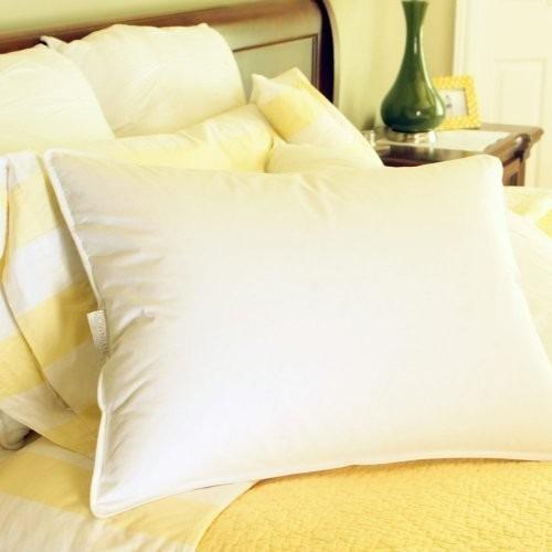 Hotel style 50 50 blanca pluma de ganso blend almohada - Almohada pluma de ganso ...