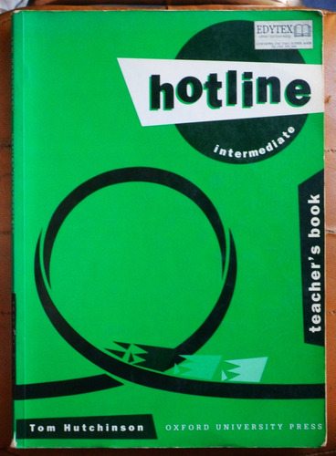 hotline intermediate (teacher's book) / t. hutchinson