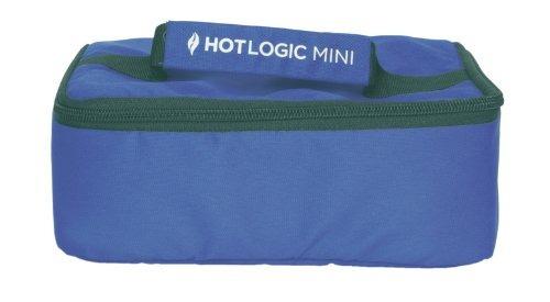 hotlogic personal mini horno portátil, azul