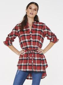 208987a065 Camisa Escocesa Mujer Oferta - Ropa y Accesorios en Mercado Libre ...