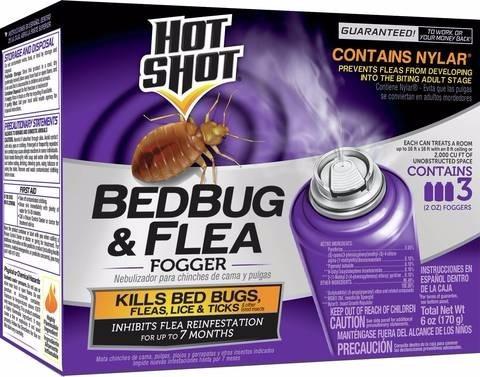 hotshot bedbug & flea veneno para chinches y pulgas plagas