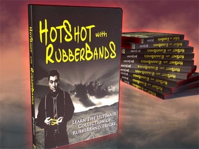 hotshot with rubberbands / ben salinas (dvd)