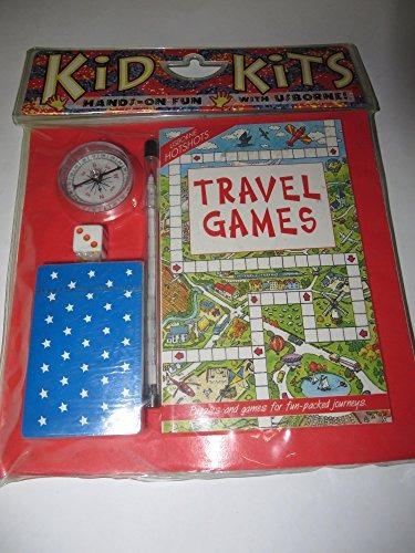 hotshots travel games kid kit (kits usborne kid)