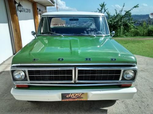 hotv8 vende ford f100 1972 v8 automática com ar e direção