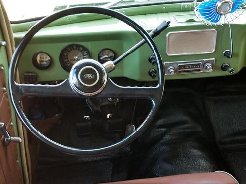 hotv8 vende ford rural willys oito lugares 1971 placa preta
