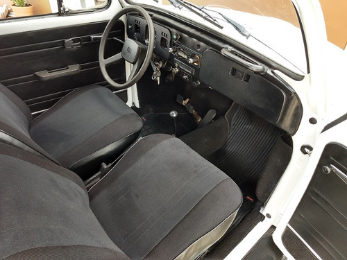 hotv8 vende raríssimo vw fusca 1300 gl 1981/82 placa preta