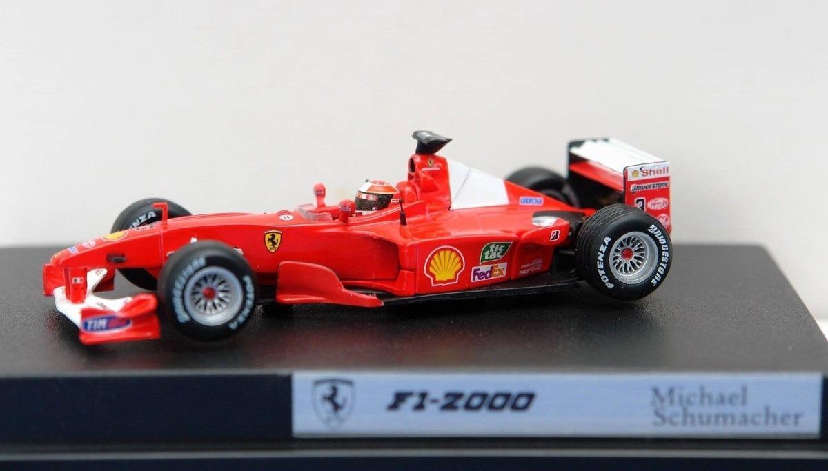 Hot Wheels 1//43 F1 Ferrari 2000 Schumacher