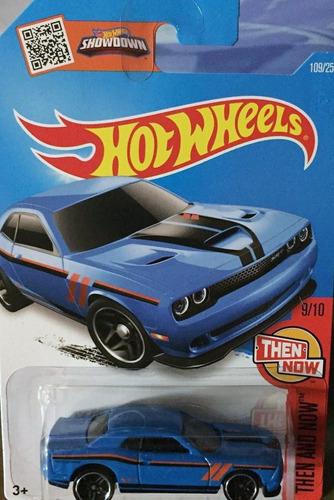 hotwheels '15 dodge challenger srt #109 2016