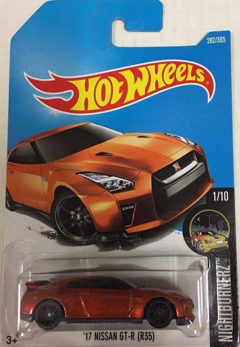 Hotwheels 17 Nissan Gtr R35 2017 - $ 70.00 en Mercado Libre