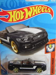 291-nuevo en caja original Hot Wheels 2018-2015 Ford Mustang GT Convertible