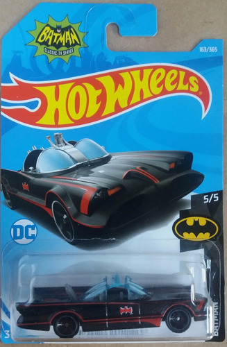 hotwheels - batimovil serie de tv 60s 1:64
