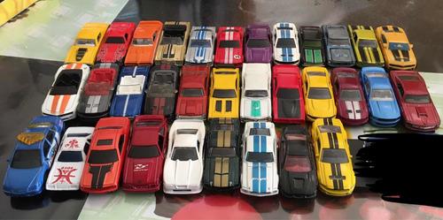 hotwheels carritos a escala 1:64 autos de colección mustangs