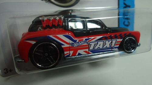 hotwheels cockney cab il  taxi   ganalo...!!!!