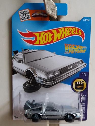 hotwheels delorean time machine 1/64