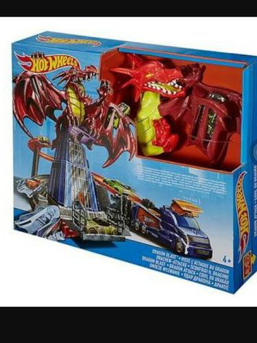 hotwheels dragon explosivo.
