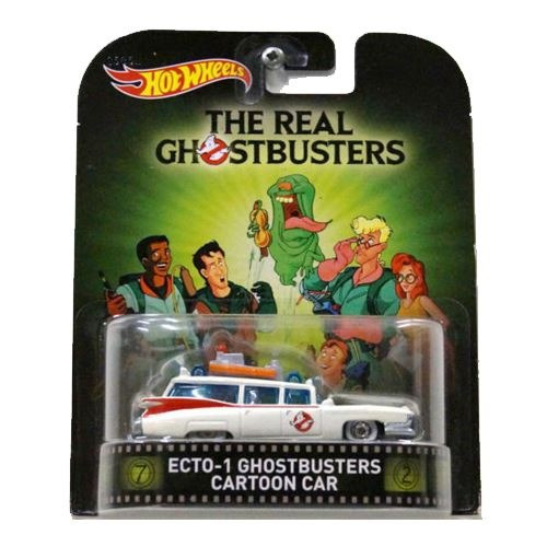 hotwheels ecto 1 the real ghostbusters cazafantasmas  1:64