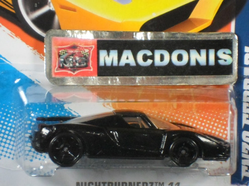 hotwheels enzo ferrari preta black bandit exclusiva macdonis