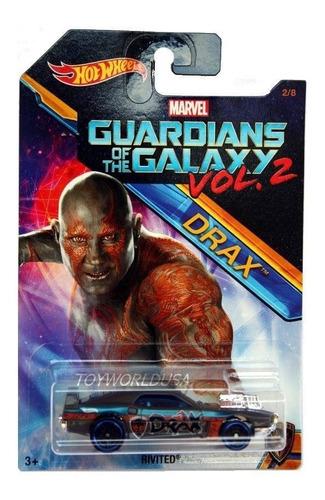 hotwheels guardianes de la galaxia vol 2 original