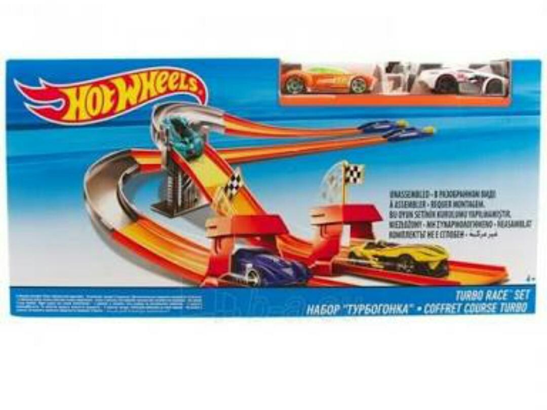 Circuito Hot Wheels : Hotwheels hot wheels circuito de carreras turbo s en