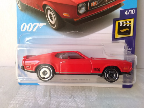 Hotwheels Hw Screen Time '71 Mustang Mach 1 James Bond ...