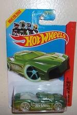 hotwheels hypertruck verde #186 2014 hw race