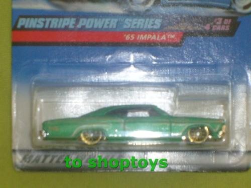 hotwheels impala 1965