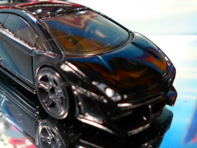 Superb Hotwheels Lamborghini Gallardo Superleggera Black Bandit