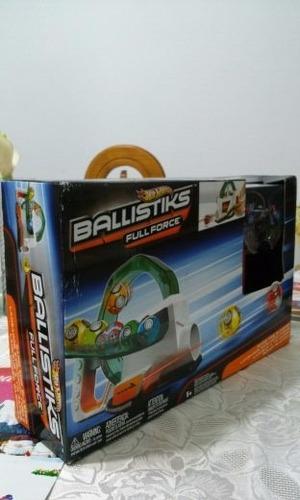 hotwheels lanzador explosión fugaz ballistiks