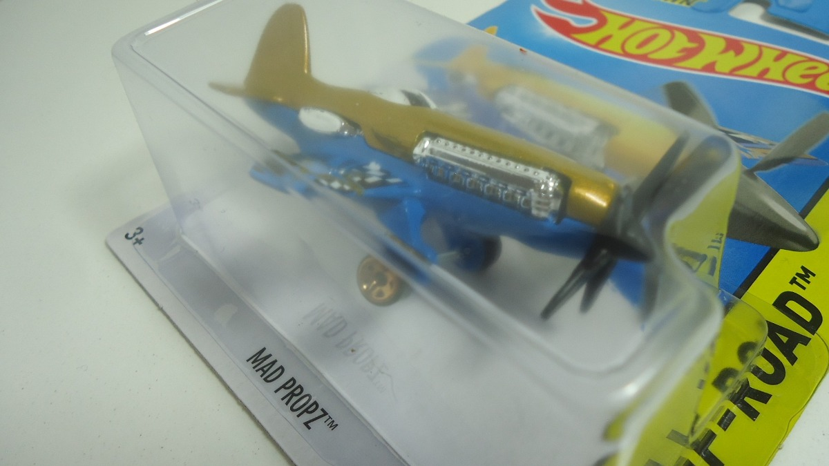 Hotwheels mad propz avi n ganalo en - Avion hot wheels ...