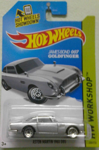 hotwheels tematico james bond 007 oferta